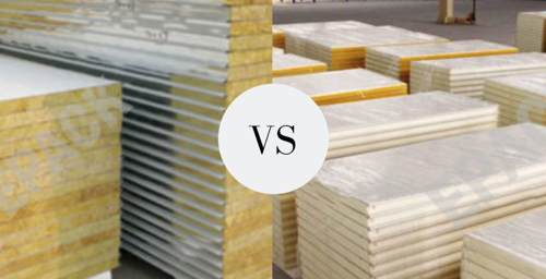 Rockwool vs PU panels